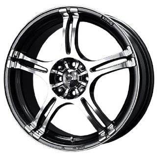 Unique Wheel 83 Black Wheel (13x5.5/4x100mm) Automotive