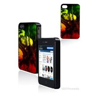 Bob Marley Reggae   Iphone 4 Iphone 4s Hard Shell Case Cover Protector
