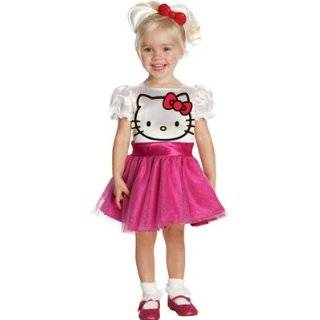 Hello Kitty Tutu Dress Child Costume   Large: Toys & Games