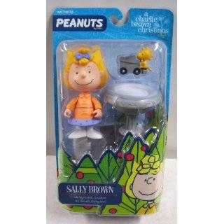 Sally Brown Charlie Brown Christmas Action Figure from Peanuts