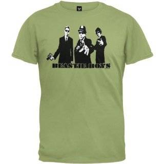Beastie Boys   Fader Logo T Shirt Clothing