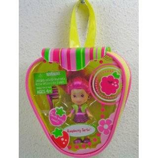 Strawberry Shortcake Mini Doll with Purse  Pink Dress Toys & Games