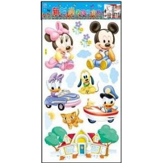 Mickey Mouse Club Wall Sticker Decal for Baby Nursery Kids Room