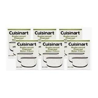Cuisinart DCC RWF 6PK Charcoal Water Filters, 2 Year Supply, Includes