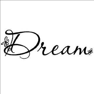 Wall Pops WPQ96852 Peel & Stick Dream Quotes Wall Decals