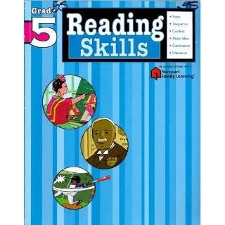 Reading Skills: Grade 4 (Flash Kids Harcourt Family
