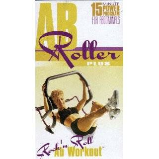 AB Roller Plus Rock n Roll Ab Workout (Tape …