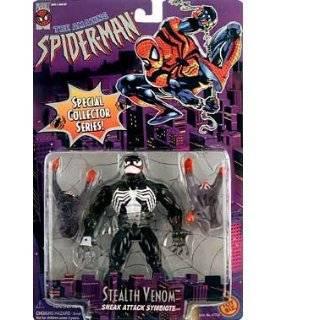 Marvel Comics Spider Man Spider Power Slime Shaker Venom Toys & Games
