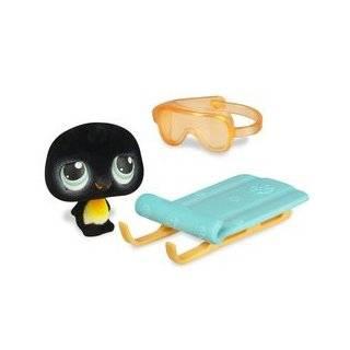 Littlest Pet Shop Portable Pets   Penguin with Sled