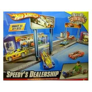 Hot Wheels Deluxe City Hot Rod Garage Playset Toys & Games
