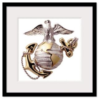USMC Eagle,Globe,and Anchor Framed Print