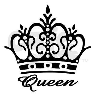 Queen Black Crown Pink Thermos can cooler by Admin_CP3103533