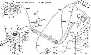 Mtd Mowers Wiring Diagram in addition Harmony carburetor also Wiring Diagram Craftsman 917 254271 further Montgomery Ward Snowblower Parts Diagram as well 36 Inch Craftsman Lt1000 Deck Belt Diagram. on wiring schematic craftsman lawn tractor