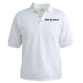Newman Gifts > Alfred E Newman Polos > What Me Worry? Golf Shirt