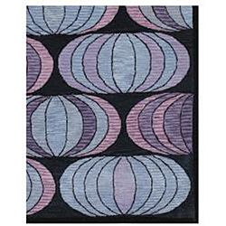 Hand tufted Gunther Blue Wool Rug (5 x 8)