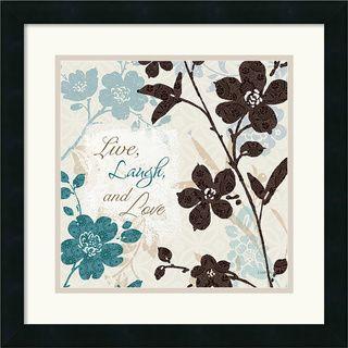 Lisa Audit Botanical Touch Quote II Framed Art Print