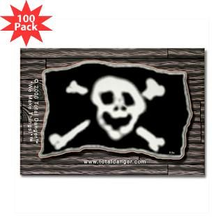 jolly roger pirate booty plank magnet 100 pac $ 147 99