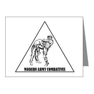Modern Army Combatives Note Cards (Pk of 10)