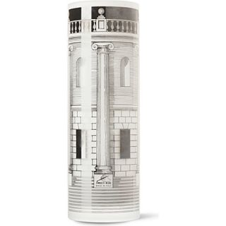 Silkscreen printed glass vase   FORNASETTI   New home   Gifts For