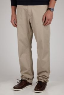 Beige Relaxed Fit Chino by Burberry Brit Brit   Neutral   Buy Trousers Online