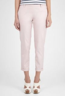 Farhi by Nicole Farhi  Powder Cropped Tailored Cuffed Chino by Farhi by Nicole Farh
