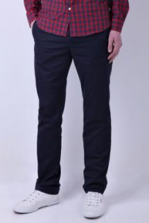 Slim Leg Chino by A.P.C.   Navy   Buy Trousers Online