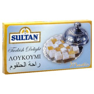 Sultan Turkish Delight   Mastic   6 Boxes (16 oz ea)