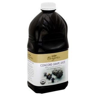 Meijer Organics Concord Grape Juice   1 Bottle (64 fl oz)