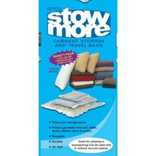 Redmon Bongo Stow More Bags   Assorted 3 Pack