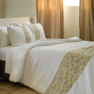Blair 3 piece King size Flange Duvet Cover Set