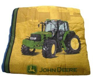 Deere Bedding Denim Collection Comforter, Queen Size: Home & Kitchen