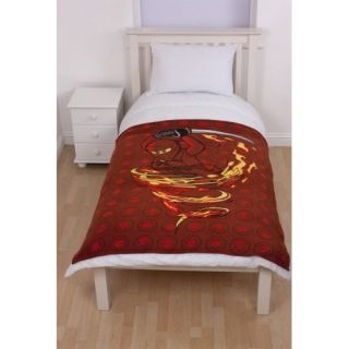 Lego Ninjago Fire Fleece Blanket Panel