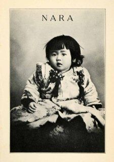 1912 Print Nara Japan Traditional Dress Clothing Baby Girl