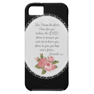 Jeremiah 29:11 Victorian Christian Gift iPhone 5 Cover