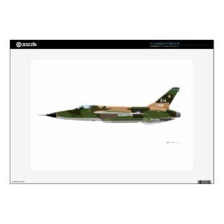 Republic F 105 Thunderchief Skins For 15 Laptops