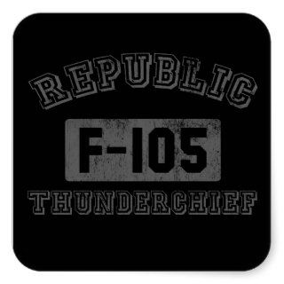 Republic F 105 Thunderchief sticker