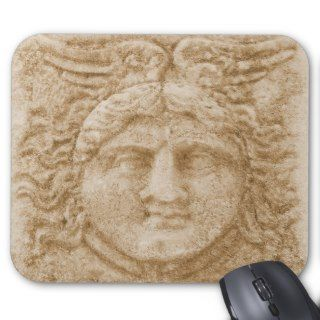 Greek God Hermes PICTURE ancient image of Hermes Mousepads
