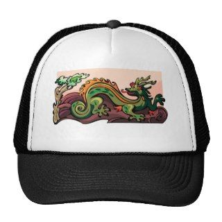 Dragon Serpent Tattoo Fantasy Fiction Drawing Art Hats