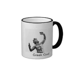 Zeus, greek god coffee mugs