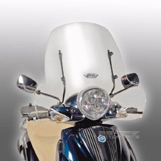 Windschild Givi Piaggio Beverly 500 03 07 transparent: Auto