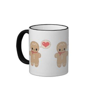 Cute Gingerbread Man Mugs