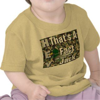 Hey, Thats A Fact Jack Baby T Shirt