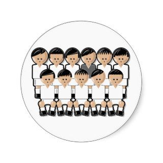 Real Madrid soccer team.ai Stickers
