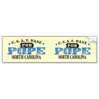 Air Force Base   Pope, North Carolina Bumper Stickers