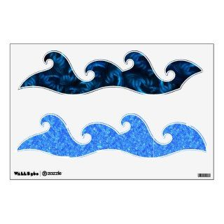 walls 360 wall decals w ocean blue waves this ocean waves decal looks