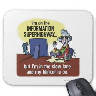 Maxine Information Superhighway Mouse Pads