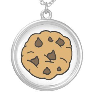 Cartoon Clipart HUGE Chocolate Chip Cookie Dessert Personalized