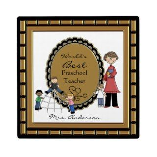 Words Best Daycare Preschool Teacher Plaque