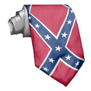 Confederate Flag #2 Neck Tie