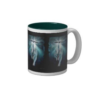 WOLF & EAGLE Wildlife Series Coffee Mugs